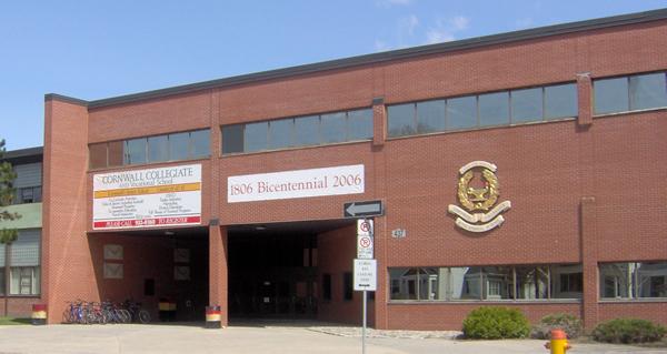Foto de l'escola High School al Canadà
