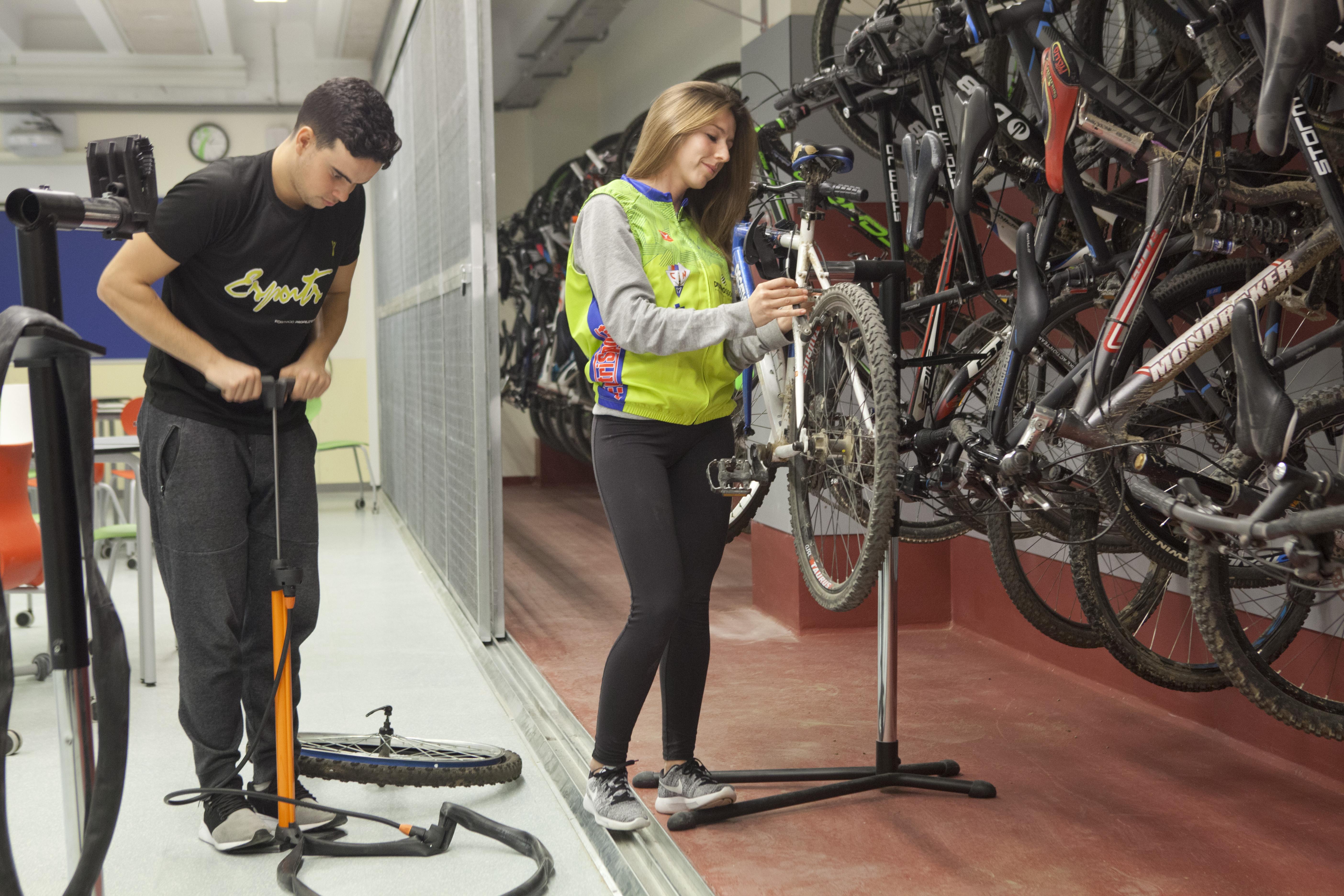 Taller de bicicletes