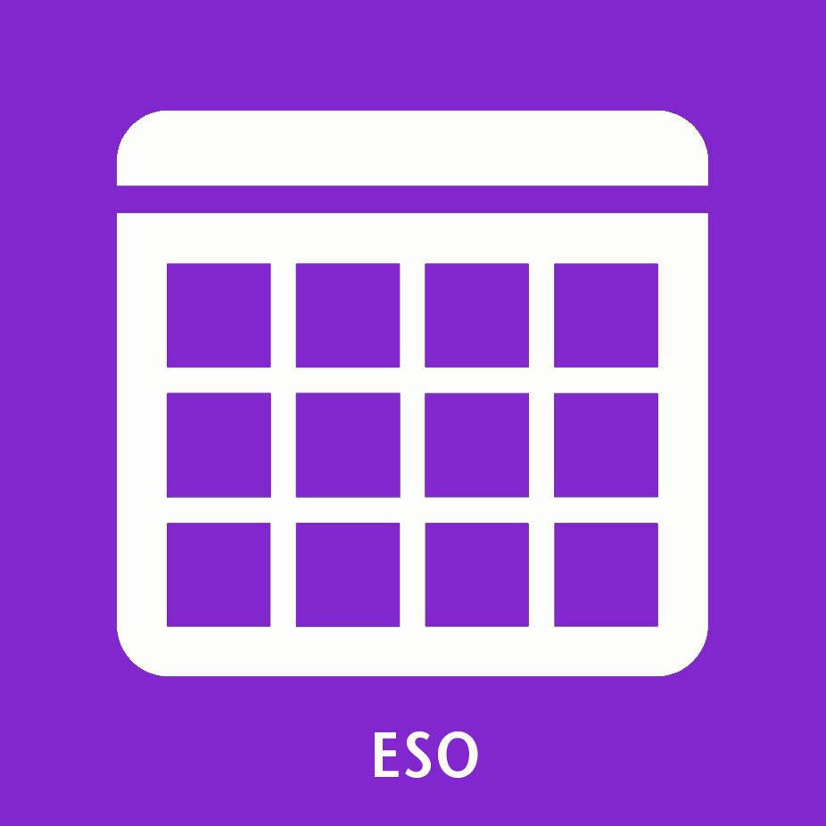 Icona calendari ESO