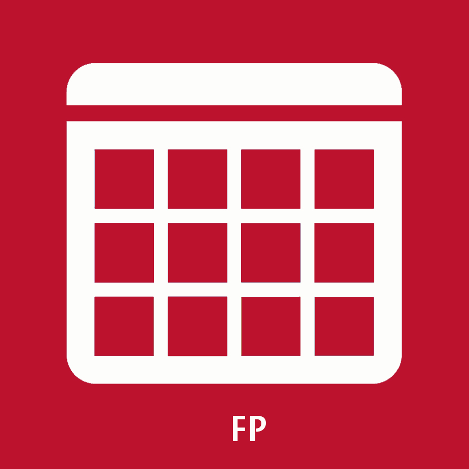 Icona calendari d'FP
