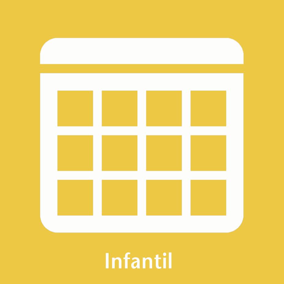 Icona calendari infantil