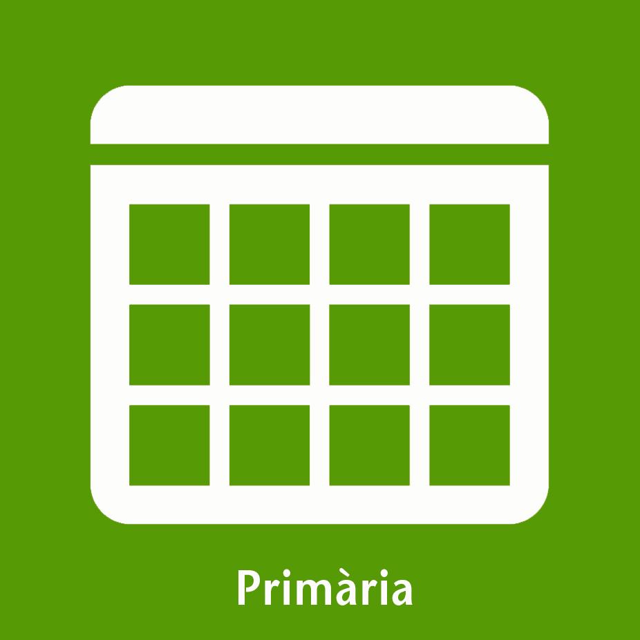Icona calendari primària