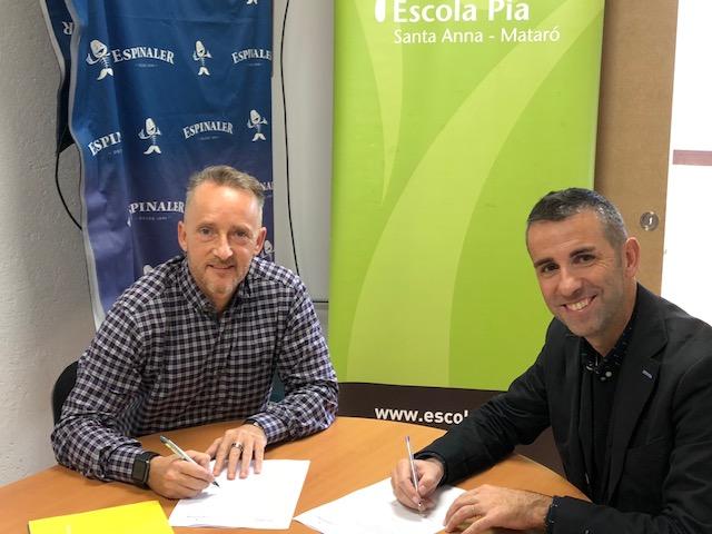 Signatura conveni Espinaler