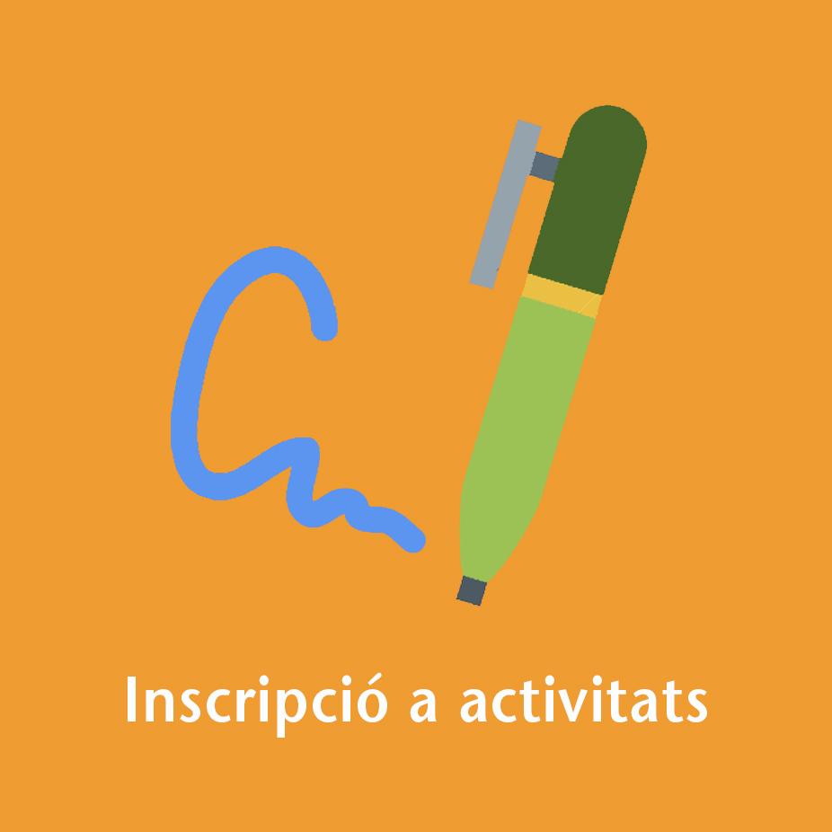 inscripció activitats