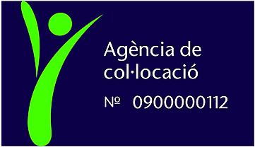 Agència col·locació logo