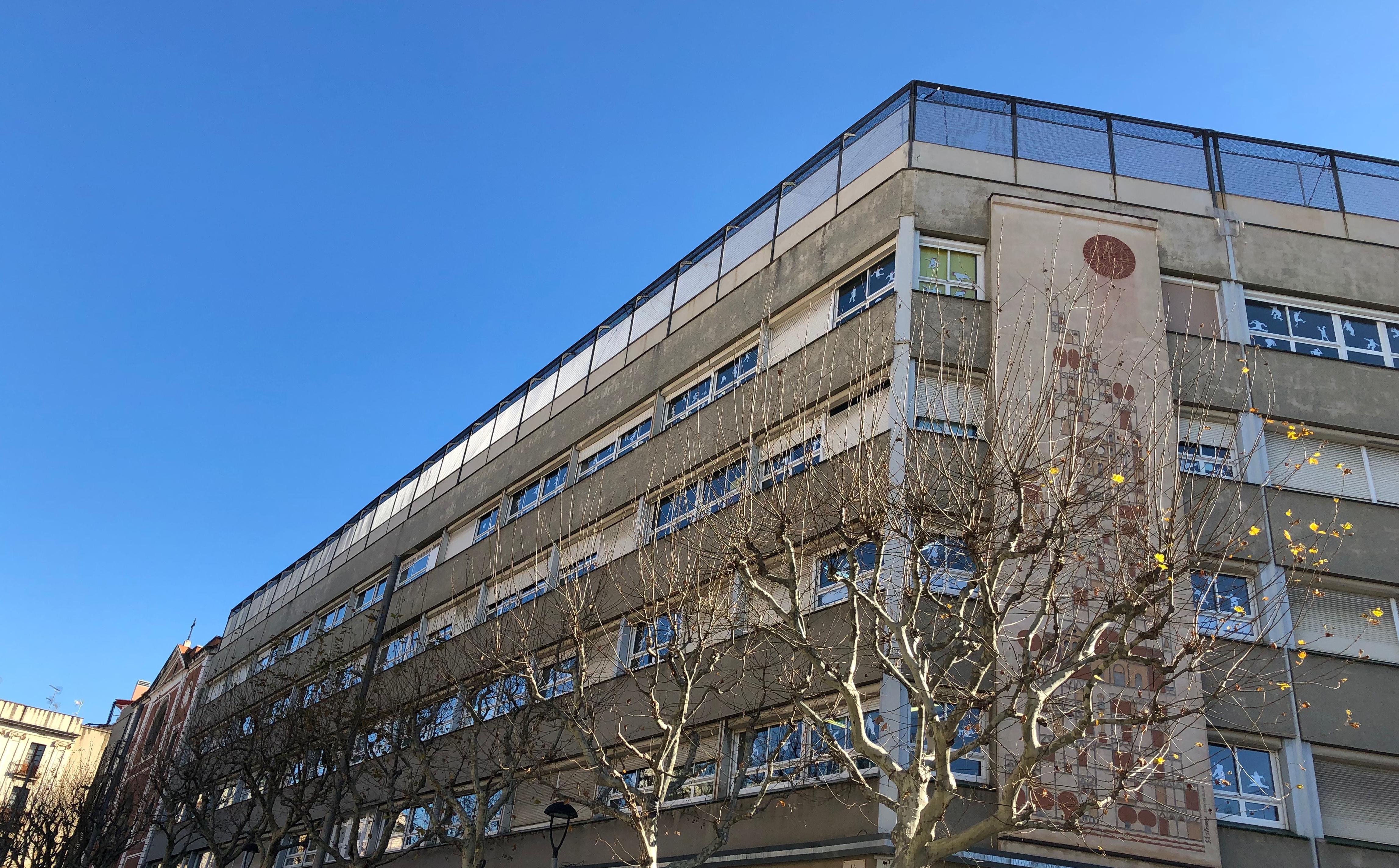 edifici de plaça