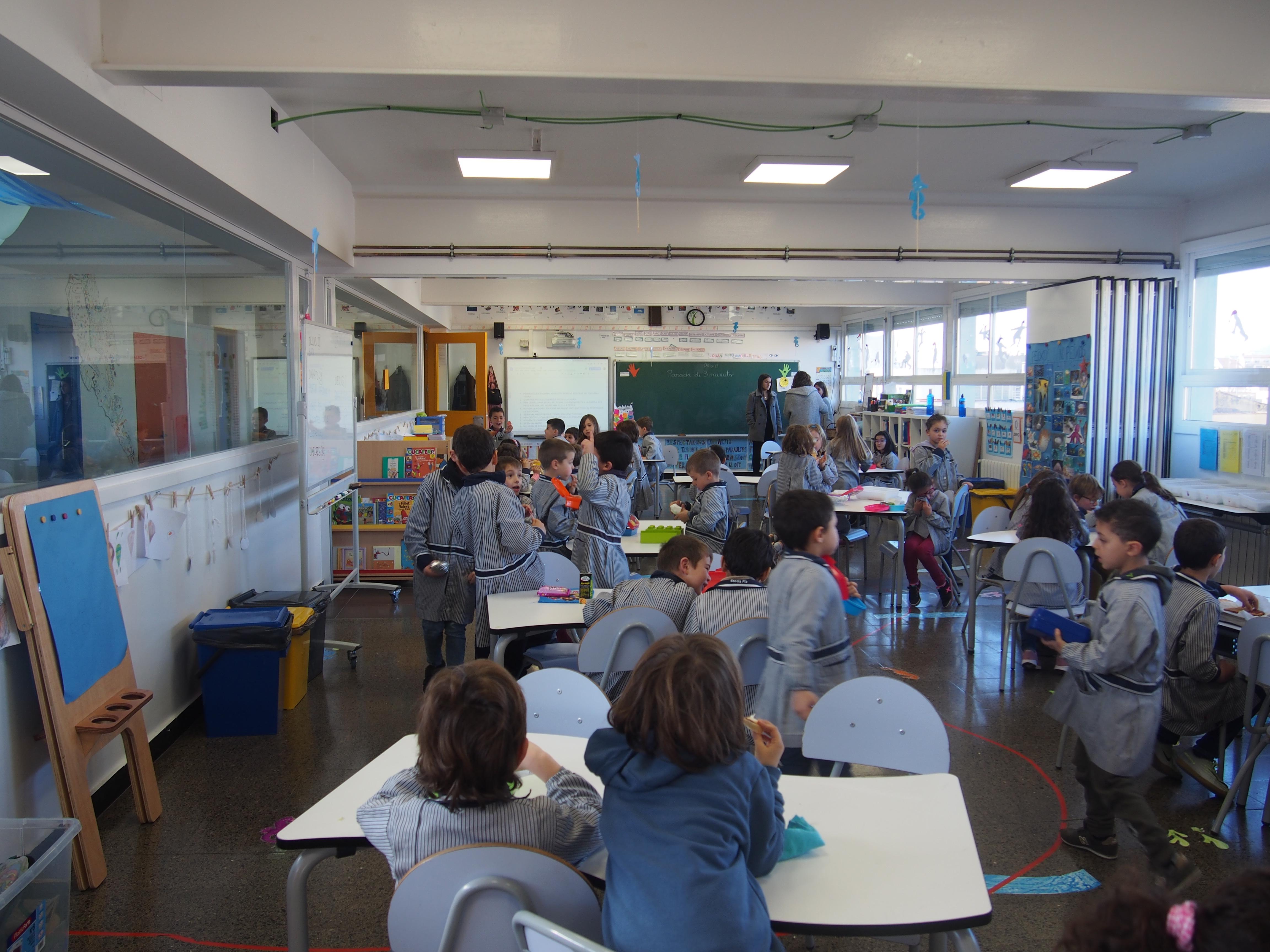 aula plaça